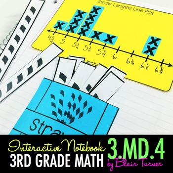 Interactive Notebook Activities - Measure to the 1/4 Inch