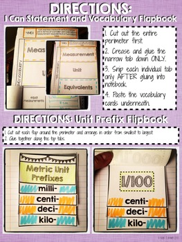 Interactive Notebook - Measurement Units {4.MD.1}