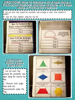 Interactive Notebook Activities - Measuring Angles {4.MD.6}