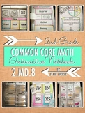 Interactive Notebook Activities - Money Word Problems {2.MD.8}