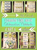 Interactive Notebook Activities - Multi-Digit Division {4.NBT.6}