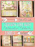 Interactive Notebook Activities - Multiplying Multi-Digit Numbers {5.NBT.5}