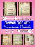 Interactive Notebook Activities - Partition Rectangles into Rows/Columns {2.G.2}