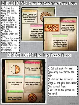 Interactive Notebook Activities - Partitioning Circles and Rectangles {2.G.3}