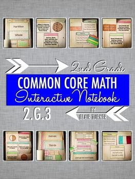 Interactive Notebook Activities - Partitioning Circles and