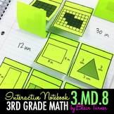 Interactive Notebook Activities - Perimeter {3.MD.8}