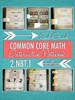 Interactive Notebook Activities - Place Value Concepts {2.NBT.1}