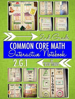 Interactive Notebook Activities - Polygons and Solid Figur