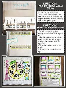 Interactive Notebook Activities - Powers of 10 {5.NBT.2}