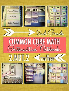 Interactive Notebook Activities - Skip-Counting by 5s, 10s