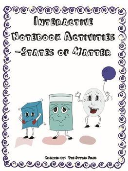 Interactive Notebook Activities- States of Matter