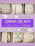 Interactive Notebook Activities - Subtraction as Unknown-A