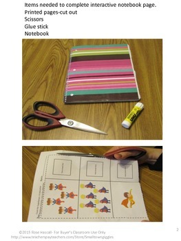 Interactive Notebook Activities Superhero