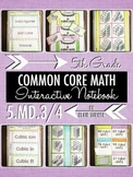 Interactive Notebook Activities - Volume Concepts {5.MD.3 & 5.MD.4}