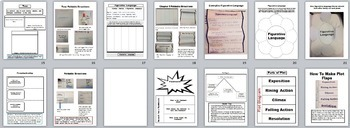 Interactive Notebook Activities for Any Story or Novel~Perfect for 4th-8th Grade