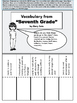 """Interactive Notebook Activities for """"Seventh Grade"""" by Gary Soto"""