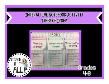 Interactive Notebook Activity - Irony