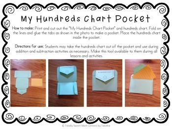 Interactive Notebook- Addition & Subtraction Grade 1 Foldables and Pockets!