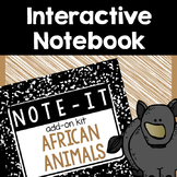 Interactive Notebook- African Animals