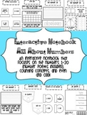 Interactive Notebook All About Numbers