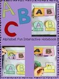 Interactive Notebook Alphabet Fun