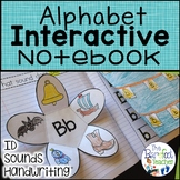 Alphabet ID & Sounds Interactive Notebook  (Distance Learning)