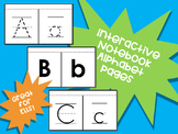 Interactive Notebook Alphabet Pages