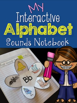 Back to School - Alphabet Sounds Interactive Notebook