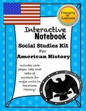 Interactive Notebook American History Unit pages kit