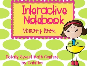 Interactive Notebook- An End of the Year Memory Book