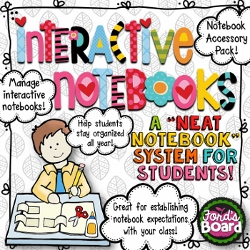 Interactive Notebook Organization System
