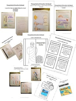 Interactive Notebook- Ancient Civilizations - Mesopotamia