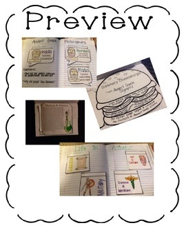 Interactive Notebook- Ancient Civilizations Units 1-4