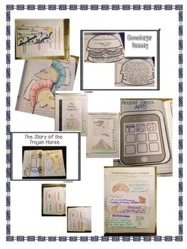 Interactive Notebook- Ancient Civilizations Units 1-5