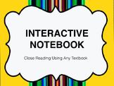 Interactive Notebook (Any Textbook)