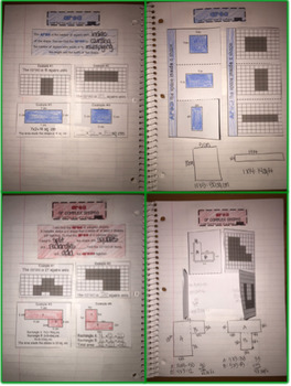 Interactive Notebook: Area and Perimeter