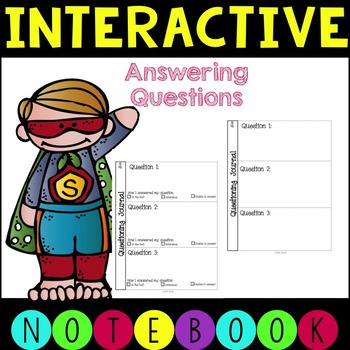 Interactive Notebook - Asking Questions
