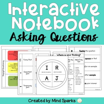 Interactive Notebook (Asking Questions Pages)