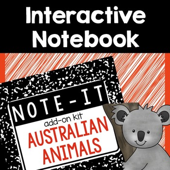 Interactive Notebook- Australian Animals