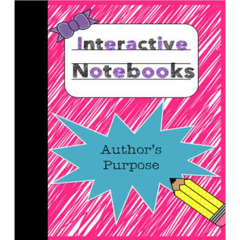 Interactive Notebook - Author's Purpose
