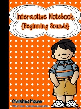 Interactive Notebook {Beginning Sounds}