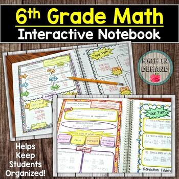 Math Interactive Notebook Bundle