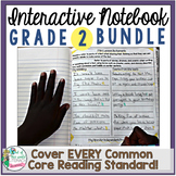 Interactive Notebook Bundle: 2nd Grade {Cover ALL CCSS RL & RI Standards!}