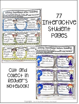 Interactive Notebook Bundle: 5th Grade {Cover ALL CCSS RL & RI Standards!}