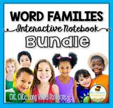 Interactive Notebook Bundle - CVC, CVCe, Long Vowels