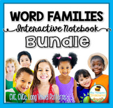 Interactive Notebook Bundle - CVC, CVCe, Long Vowels