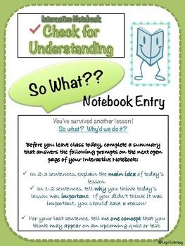 Interactive Notebook Bundle Kit