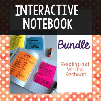 Interactive Notebook Bundle: Language Arts