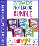 Interactive Notebook Bundle of 5 ~ Bundle Palooza @ Lovin' Lit!