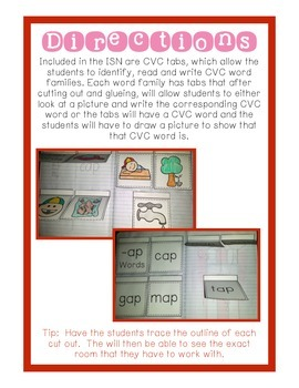 Interactive Notebook - CVC Words BUNDLE